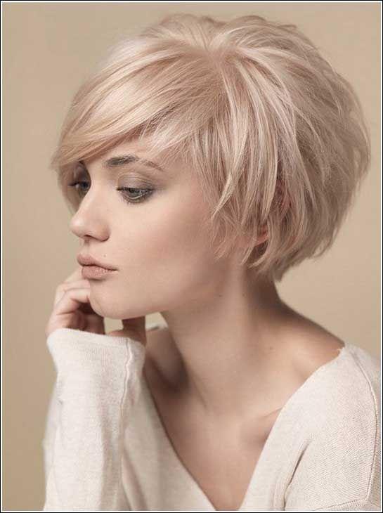 Blonde Kurzhaarfrisuren Frauen Kurze Frisuren Haar Hair Short