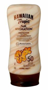 HAWAIIAN TROPIC SILK HYDRATION PROTECTIVE SUN LOTION 180ML SPF 50  Introducing the new sunscreen lotion from Hawaiian Tropics, the only suns...