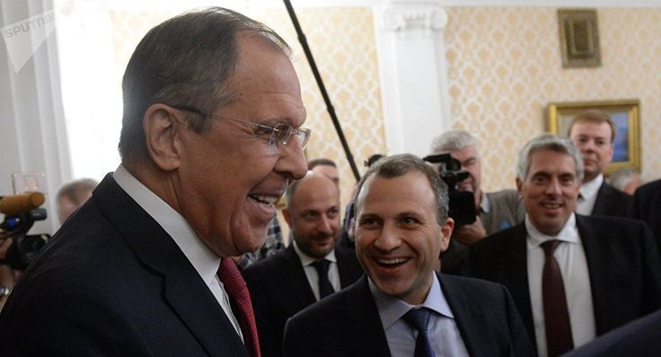 """""""We expect that Russia will further strengthen its role in order to complete the process of power balance formation in the region as our region will not manage to survive without such a balance,"""" Bassil said at a meeting with Russian Foreign Minister Sergey Lavrov."""