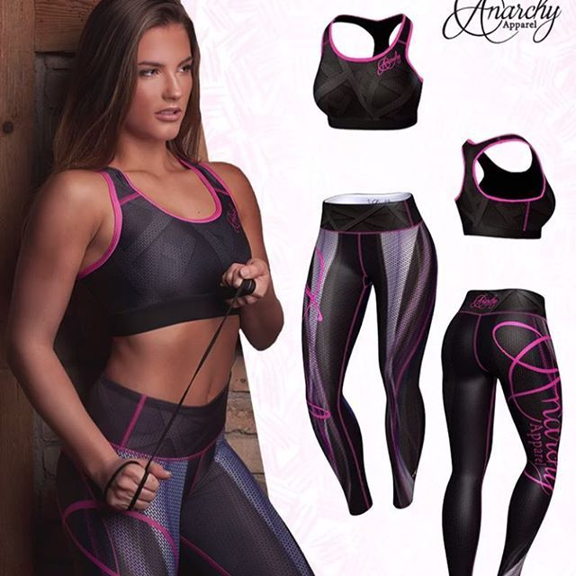 ANARCHY Apparel Plasma... Ready to take on any kind of training, the Anarchy Plasma Legging and Sports Bra are the perfect base layer, enhancing breathability, whilst keeping you cool and dry.💖 . Available Sizes. S, M, L, XL Enjoy 25%-45% OFF some of our favorites!  Express Postage On All Orders🚚 . 8 Luxury Active Apparel Brands To Choose From! .  Your No 1 store for exclusive fitness fashion: @gymandfitnessfashion.com.au 👈 .  www.gymandfitnessfashion.com.au  . #gymandfitnessfashion…