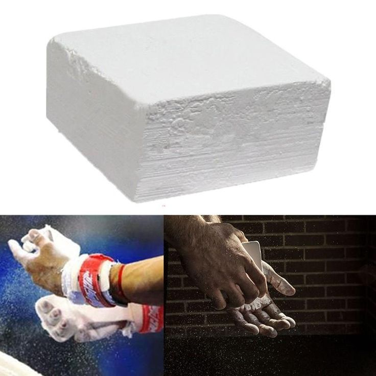 Gym White Magnesium Carbonate Chalk For Weightlifting