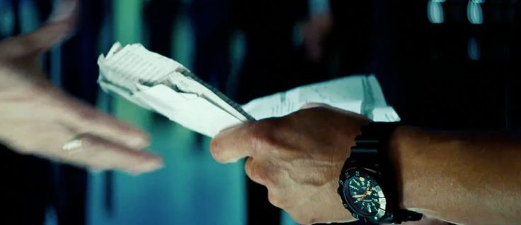 MTM Warrior Black Special Ops Watches - Transformers: Dark of the Moon (2011) Movie Scene