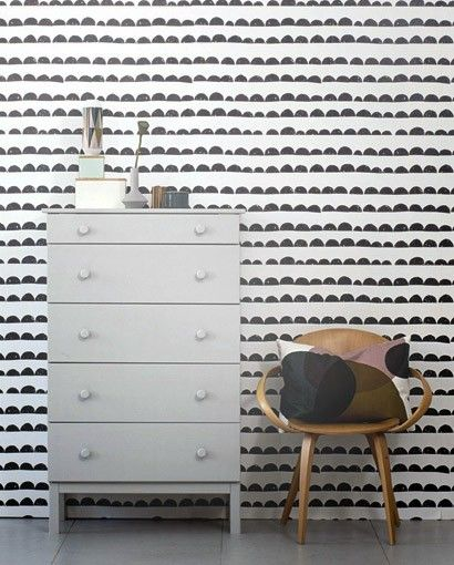 13 best design barbara becker tapeten images on pinterest wall papers home and homes. Black Bedroom Furniture Sets. Home Design Ideas