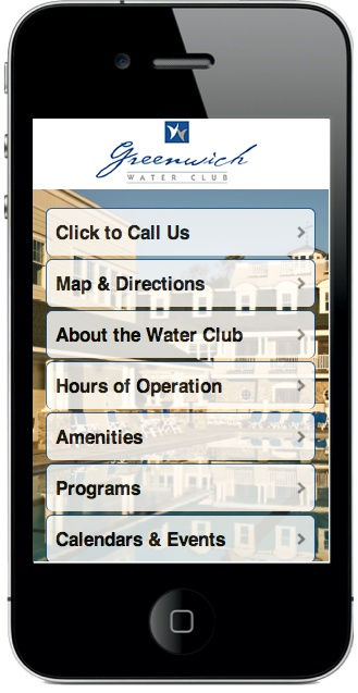 Mobile Website Sample