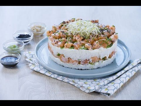 Sushi cake - Anne-Sophie - Fashion Cooking