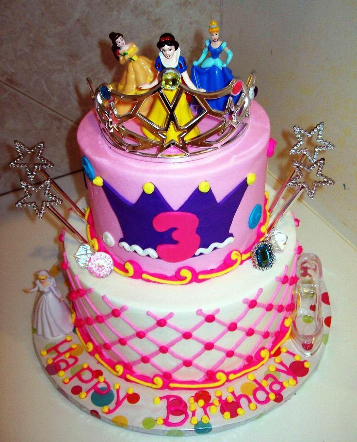 Disney Prinzessinnentorten Prinzessinnen Kleine Prinzessin Kuchen Party Kindergeburtstagstorten Geback Geburtstage