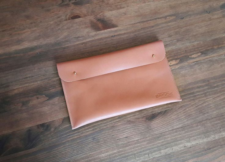 Leather Purse, Handmade Bag, Rosy Brown Leather Clutch, Handbag by Brookleathergoods on Etsy
