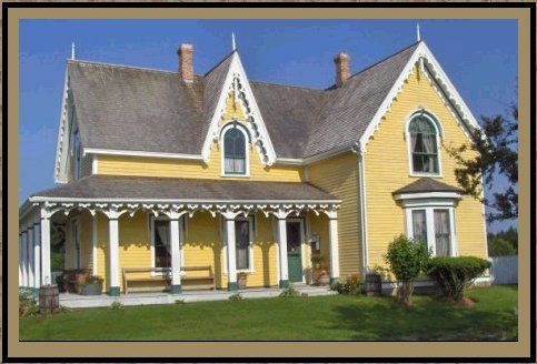 Like many places on PEI, there is an Anne of Green Gables connection. L.M. Montgomery boarded here for several months while she was first teaching. The one upstairs room is hers, although nothing in it actually belonged to her. You can look out the window and see the view she wrote about