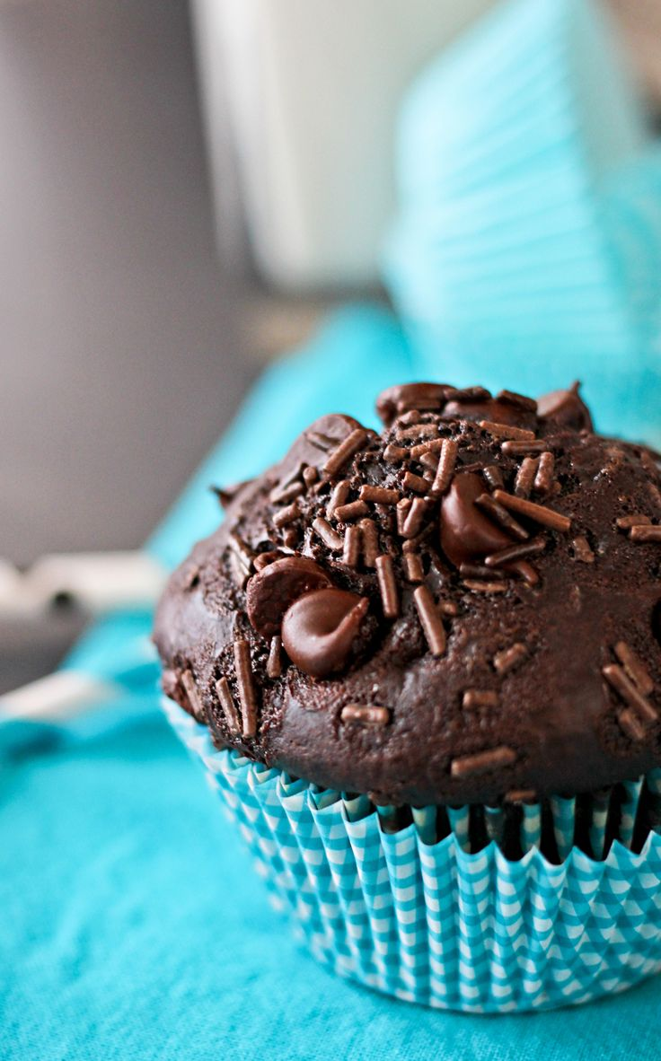 Chocolate Overload Muffins - Need to try these for a decadent breakfast!