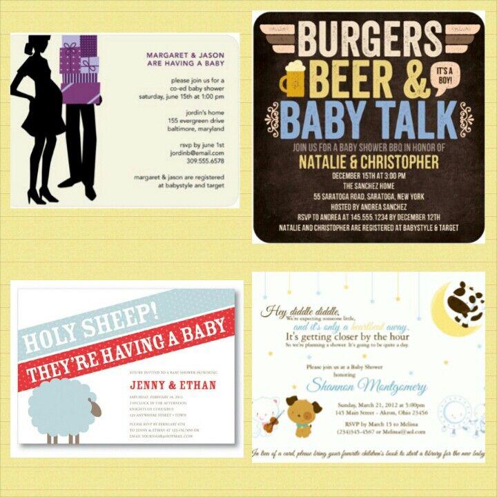 Jack & Jill Baby Shower Invitation Ideas