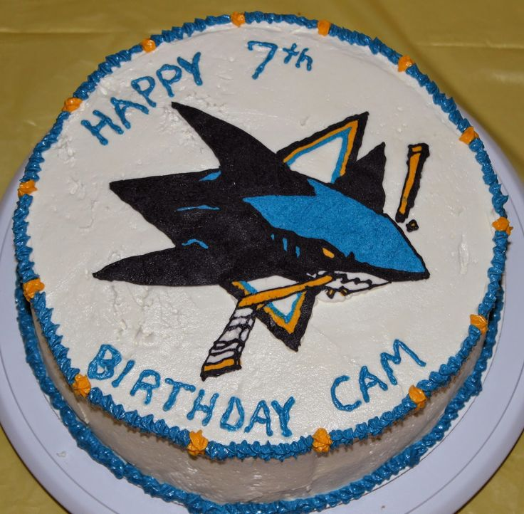 41 best boys birthday images on Pinterest San jose sharks Shark