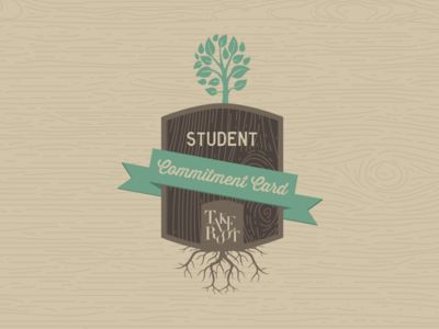 Take Root Student Commitment Card