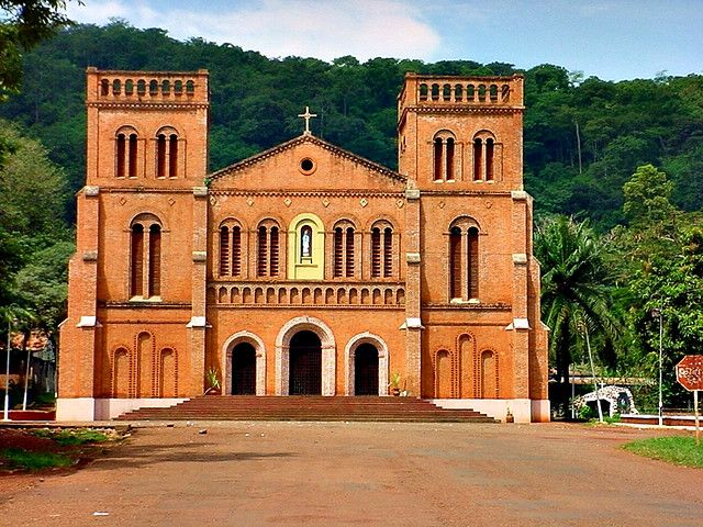 catholic cathedral... Bangui, Central African Republic