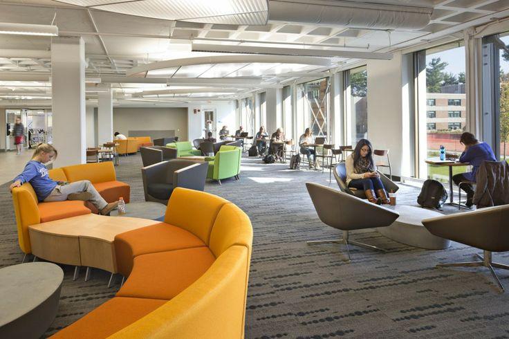 Furniture:  Westfield State New University Hall / ADD Inc.