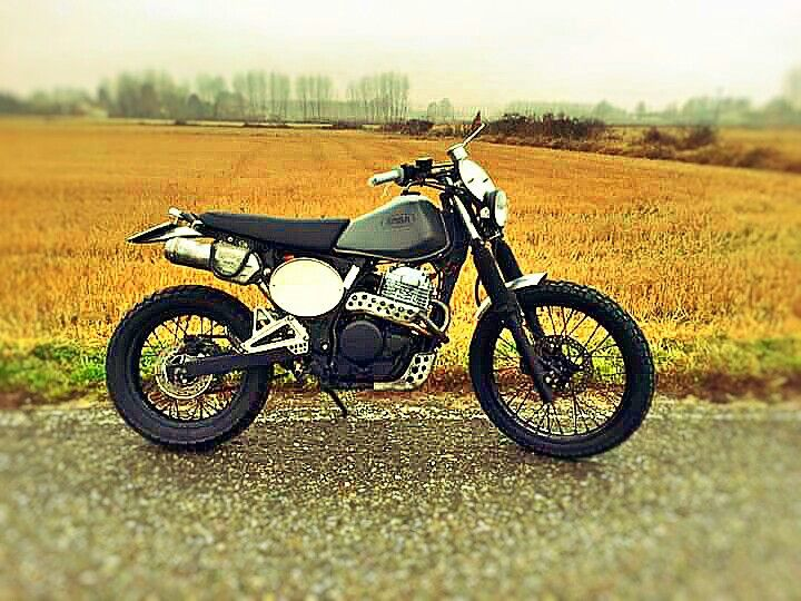 Honda Dominator by Aniba Motorcycles