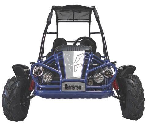 Hammerhead Mudhead 208cc Kids Buggy - Blue