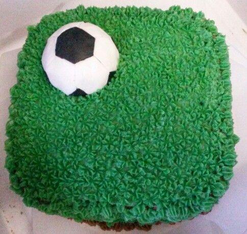 Voetbal - surprise - taart