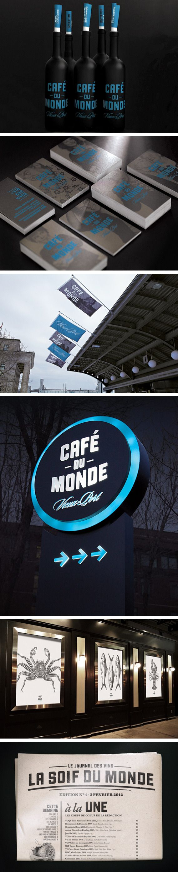 Café du Monde #identity #packaging #branding PD