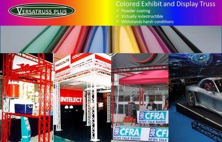 Colored Exhibit Truss