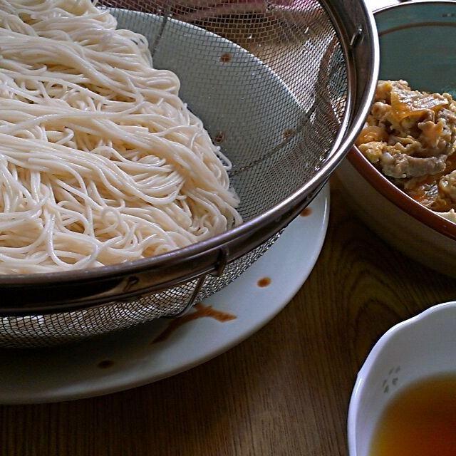 そうめん、夜食べたやつの方が美味しかったね(笑) なんでやろね(笑) 他人丼は相変わらずおいしーーい! - 7件のもぐもぐ - そうめんと昨日の他人丼☆ by fujifabric11