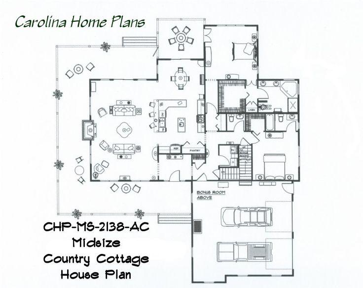 42 best House Plans in 3D images on Pinterest   3d house plans, Car ...