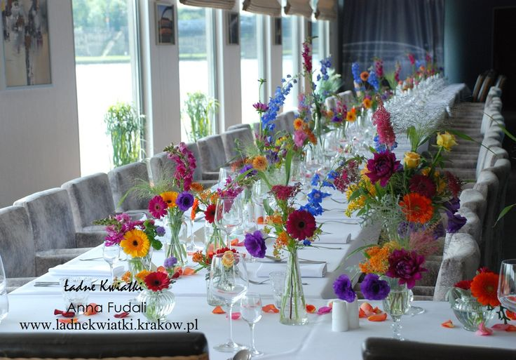 Małgorzata i Jarek - unusual wedding party on the barge on Vistula River.