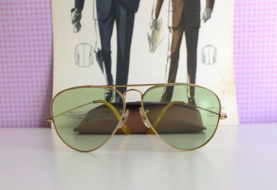 Original et rare Bausch & Lomb made in USA LIC  Ray Ban