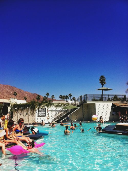 Ace Hotel in Palm Springs: Bachelorette Parties, Bachelorette Palms Spring, Ace Hotels, Annual Trips, Ace Palms, Bonnie Tsang, House, Photo, Parties Time