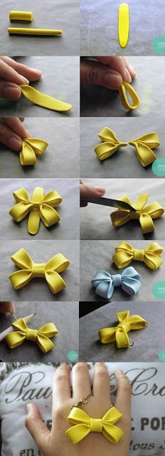 Double Fondant Bow Tutorial