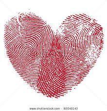 mother daughter tattoos – fingerprint of each finger made into a heart @Jennifer Milsaps L Milsaps L Hall-Cormican