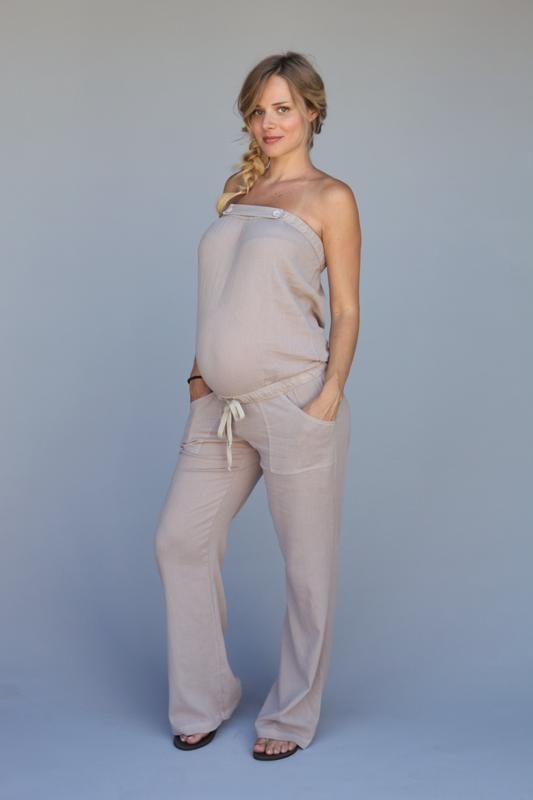 Gauze Maternity Jumper Swimwear Cover