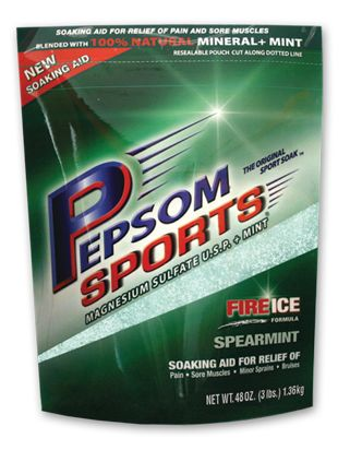 Pepsom Sports Spearmint Epsom Salt 3 Lb Bag for Athletes, Athletic Trainers, and Weekend Warriors!  USP Grade Epsom Salt • All natural ingredients • Soothe Sore Muscles  FREE Shipping on all orders! Only available in the USA.
