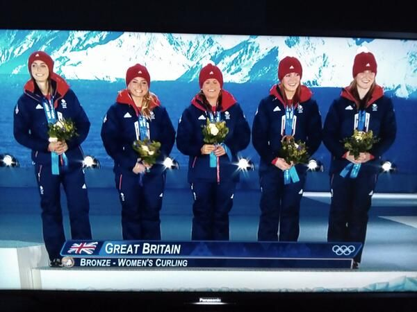 All-Scottish, Team GB bronze-medal-winning Winter Olympics curling team - Team Muirhead