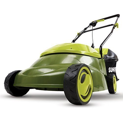 GREAT IN TIGHT SPACES! Responding to the need for an easy-to-use electric mower for smaller lawns, Sun Joe developed the Mow Joe MJ401E. Compact and lightweight (only 29 lbs), the Mow Joe MJ401E is a lean, mean and green mowing machine that gets your yard chore done without polluting the atmosphere with toxic carbon emissions.