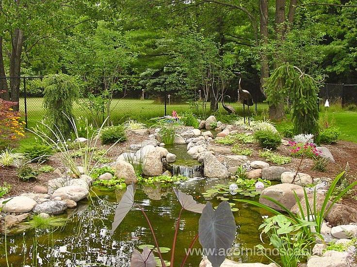 koi pond lighting ideas. Ecosystem Ponds Garden Fish Landscape Backyard Waterfall Koi Rochester NY Pond Lighting Ideas W