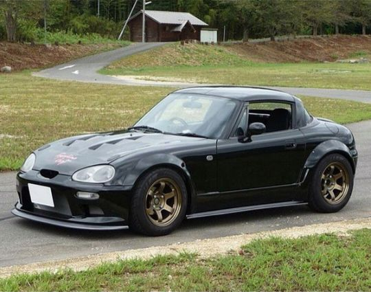Suzuki Cappuccino  https://www.instagram.com/jdmundergroundofficial/  https://www.facebook.com/JDMUndergroundOfficial/  http://jdmundergroundofficial.tumblr.com/  Follow JDM Underground on Facebook, Instagram, and Tumblr the place for JDM pics, vids, memes & More  #JDM #Japan #Japanese #Suzuki #Cappuccino #Kei