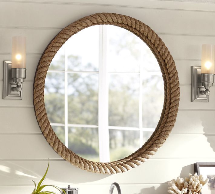 The Look For Less: DIY Rope Mirror