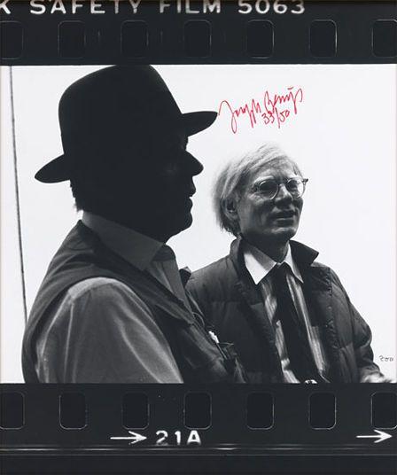 Joseph Beuys http://www.kunsthaus-artes.de/de/789484.00/Bild-Beuys-und-Warhol-1982-83/789484.00.html#q=Beuys&start=2