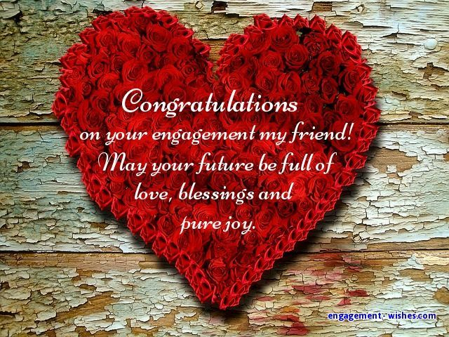 for a friend engagement quotes for friends engagement wishes