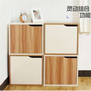 The Korean furniture hall multifunction Huanxie stool the DIY portfolio shoe storage cabinet bookcase balcony Cabinet lockers - Taobao
