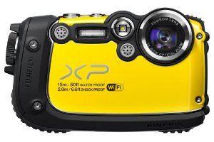 Fujifilm FinePix XP200 Yellow 16MP Waterproof Digital Camera with 3-Inch LCD (Yellow)  #fujifilm #camera #compactcamera #finepix