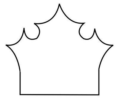 106 best Taçlar images on Pinterest Crowns, Costumes and Crafts - crown template
