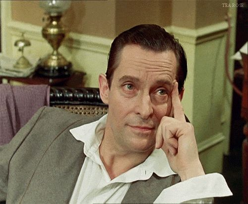'On the contrary, Watson, you can see everything! But you fail to reason - you are too timid in drawing your inferences' Sherlock Holmes - The Blue Carbuncle - Jeremy Brett - Granada Holmes