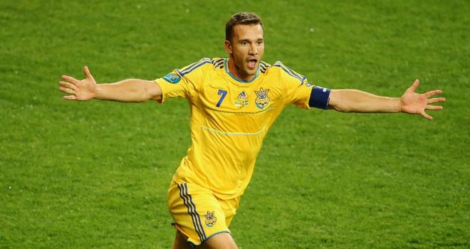 Andriy Shevchenko @ 2012 Avrupa Futbol Şampiyonası Ukrayna - İsveç maçı