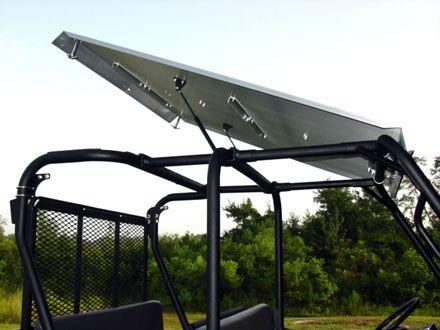Great UTV Headquarters   Kawasaki Trans Mule Aluminum Roof   STRONG MADE