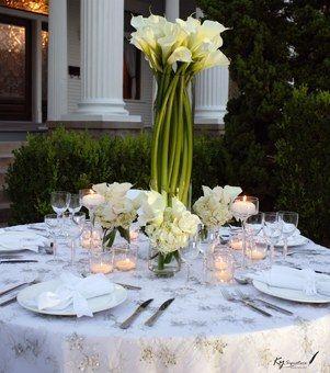 deco mariage vert et blanc