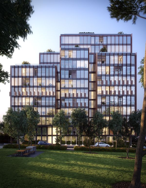 Connor apartments by Smart Design Studio added to Central Park precinct | Architecture And Design