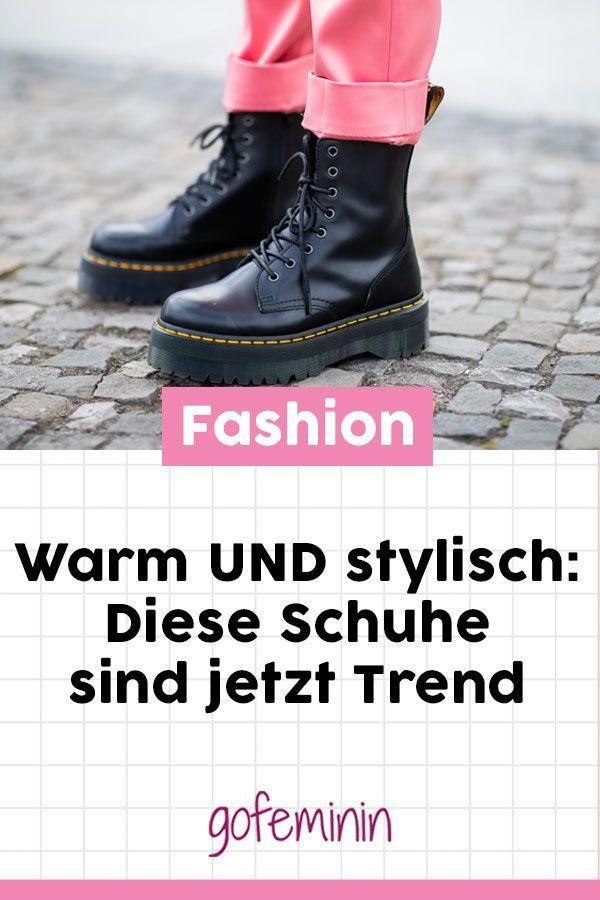 Winterschuhe Trend