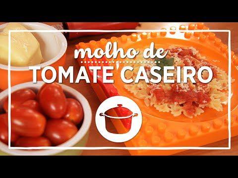 Receita de Molho de Tomate Caseiro Rápido Turbinado - YouTube