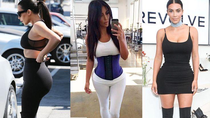 Kim Kardashian Waist Training / Slim Hour Glass Waist Line Results  Corset For Waist Training | Waist Training Workout | Workout Waist Trainer | Waist Trainers | Butt Workouts | Planet Fitness | Health Fitness | Weight Loss